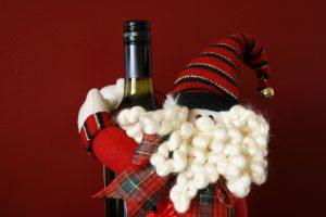 Santa Wine Bottle