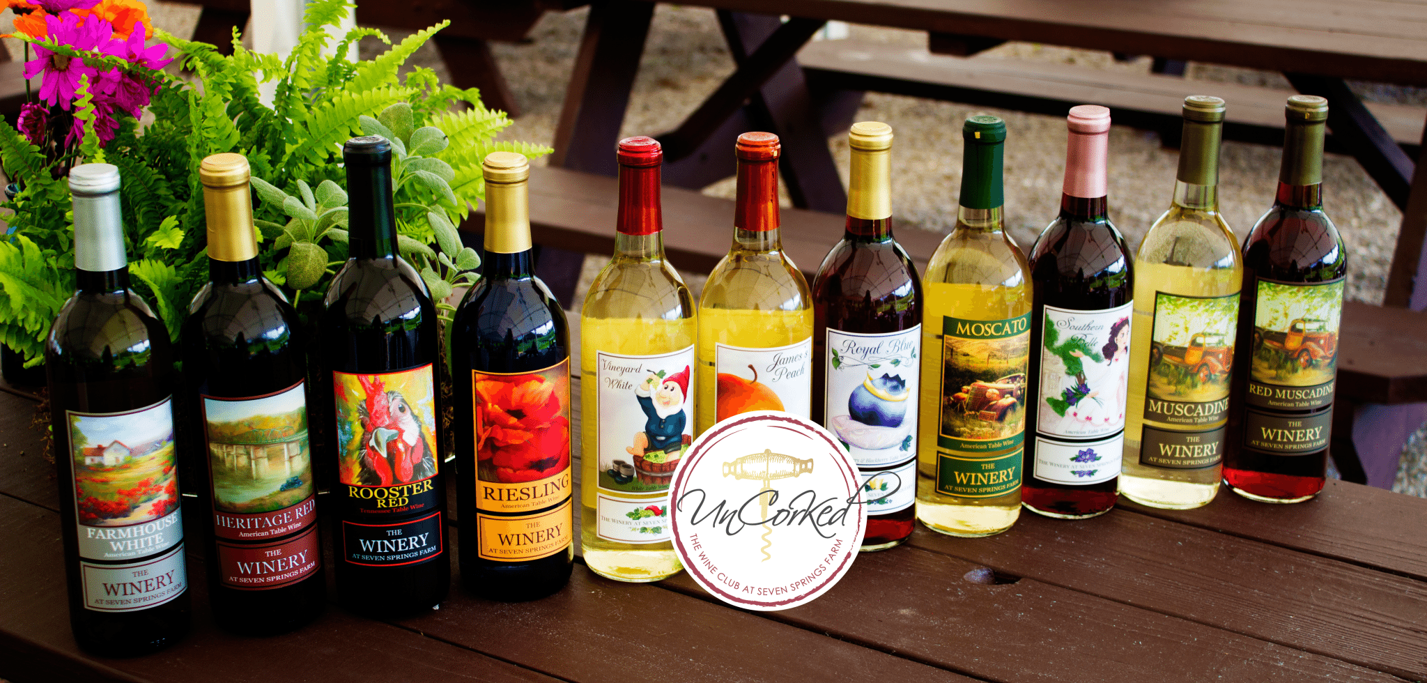Join UnCorked, The Wine Club at Seven Springs Farm