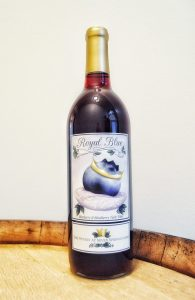 Royal Blue Blueberry Wine | The Winery at Seven Springs Farm