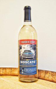 Thunder Road Moscato Wine