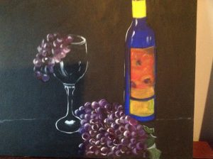 Riesling and Grapes